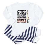 GUNS Baby Pajamas
