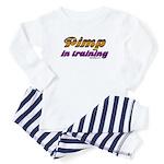 pimp in training Baby Pajamas