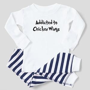 b73d23c68 Funny Jerk Chicken Design Baby Pajamas - CafePress