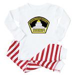 Sacto Sheriff Baby Pajamas