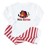 Dirty Hippies logo Baby Pajamas
