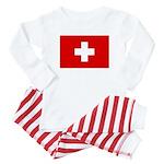 SWISS CROSS FLAG Baby Pajamas