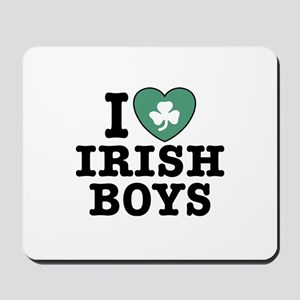 I Love Irish Boys Mousepad