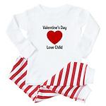 Valentines Day Love Child Baby Pajamas