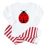 Ladybug Baby Pajamas
