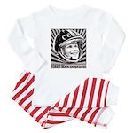 Yuri Gagarin Baby Pajamas