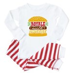 Royale With Cheese Baby Pajamas