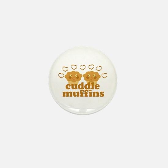 Cuddle Muffins in Love Mini Button