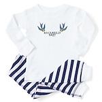 Rockabilly Baby w/ Swallows Baby Pajamas
