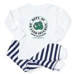 Om Land Security Baby Pajamas
