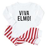 VIVA ELMO! Baby Baby Pajamas