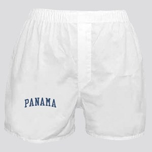Panama Blue Boxer Shorts