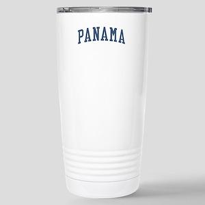 Panama Blue Stainless Steel Travel Mug