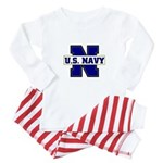 U S Navy Baby Pajamas