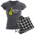 Guitar Face Women's Charcoal Pajamas