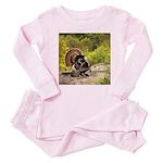 Wild Turkey Gobbler Baby Pajamas