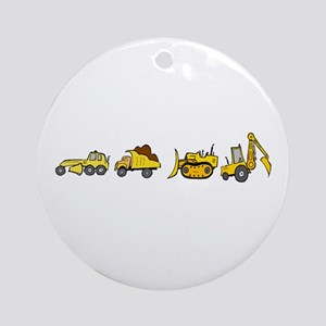 Trucks! Ornament (Round)
