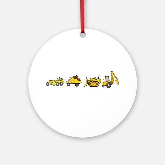 Trucks! Ornament (Round)