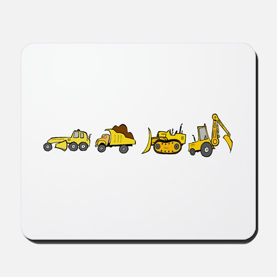 Trucks! Mousepad