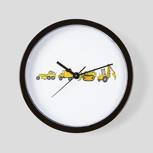Trucks! Wall Clock