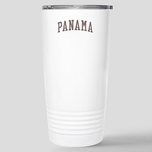 Panama Red Stainless Steel Travel Mug