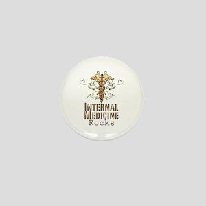 Internal Medicine Rocks Mini Button