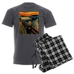 Scream 50th Men's Charcoal Pajamas
