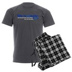 Life is Simple Men's Charcoal Pajamas