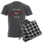 Donut King Men's Charcoal Pajamas