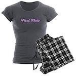 First Mate Women's Charcoal Pajamas