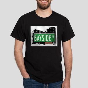BAYSIDE AVENUE, QUEENS, NYC Dark T-Shirt