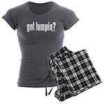 got lumpia? Women's Charcoal Pajamas