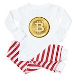 Bitcoins-5 Baby Pajamas