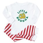 Little Buddha Yoga Symbol Baby Rompers White