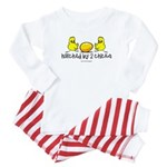 Hatched by 2 chicks Baby Pajamas