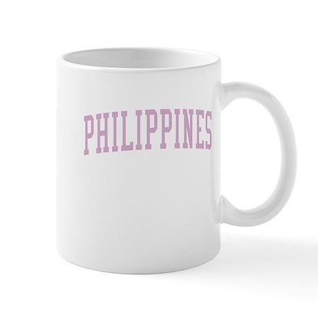 Philippines Pink Mug