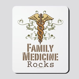 Family Medicine Rocks Mousepad