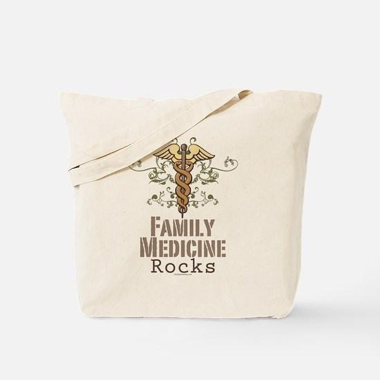 Family Medicine Rocks Tote Bag