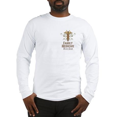 Family Medicine Rocks Long Sleeve T-Shirt