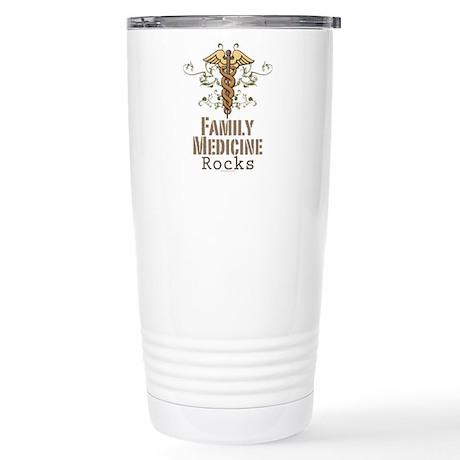 Family Medicine Rocks Stainless Steel Travel Mug