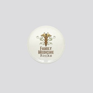 Family Medicine Rocks Mini Button