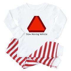 Slow Moving Vehicle Sign - Baby Pajamas