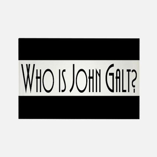 Who Is John Galt? Rectangle Magnet