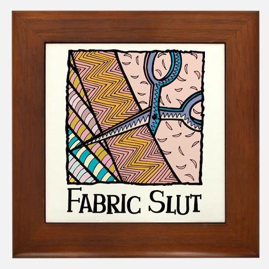 Fabric Slut Framed Tile