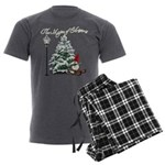 The Magic of Christmas Men's Charcoal Pajamas