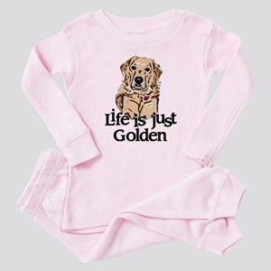Life is Just Golden Baby Pajamas