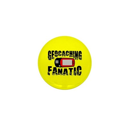 Geocaching Fanatic Mini Button