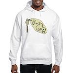 Hourly Rate Motel Key Hooded Sweatshirt