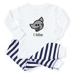 Shark Bite Baby Pajamas