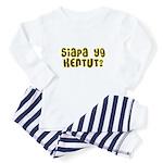 Who Farted? Baby Pajamas